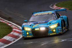 #33 Car Collection Motorsport, Audi R8 LMS: Andreas Ziegler, G. Tonic, Ronnie Saurenmann, Peter Schm