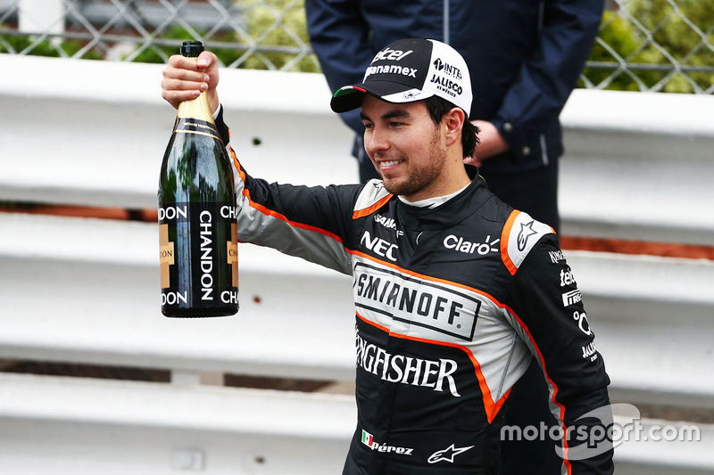 GP de Mónaco 2016 (Force India) - 3° lugar
