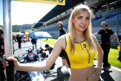 Chica de la parrilla, Pedro Piquet, Van Amersfoort Racing Dallara F312 – Mercedes-Benz