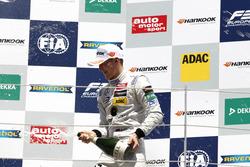 Podium: Maximilian Günther, Prema Powerteam Dallara F312 – Mercedes-Benz