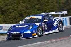 #14 GMG Racing Porsche 911 GT3R: Brent Holden, Colin Braun