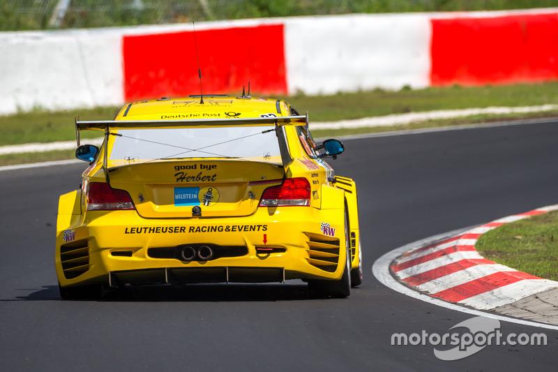 #93 Leutheuser Racing & Events, BMW 1M-Coupe GTR: Richard Purtscher, Harald Rettich, Fabrice Reicher, Dominique Nury