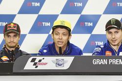 Dani Pedrosa, Repsol Honda Team, Valentino Rossi, Yamaha Factory Racing, Jorge Lorenzo, Yamaha Facto