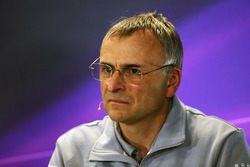 John McQuilliam, Directeur Technique Manor Racing lors de la conférence de presse