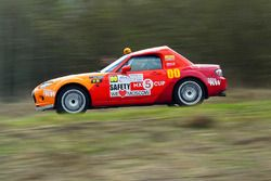 Василий Грязин и Анна Горбачёва, Mazda MX-5, Rally Masters Show 2016