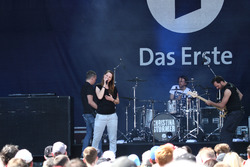Pre-race show with Christina Stürmer