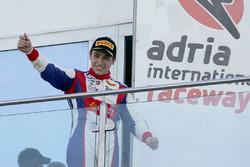 Carrera 3 podio: ganador Marcos Siebert, Jenzer Motorsport