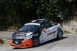 Andrea Vineis, Alessio Rodi, Peugeot 208 VTI R R2B