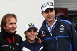 Emerson Fittipaldi, (Left)