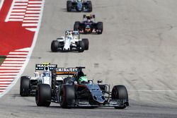 Nico Hulkenberg, Sahara Force India F1 VJM09 on the formation lap