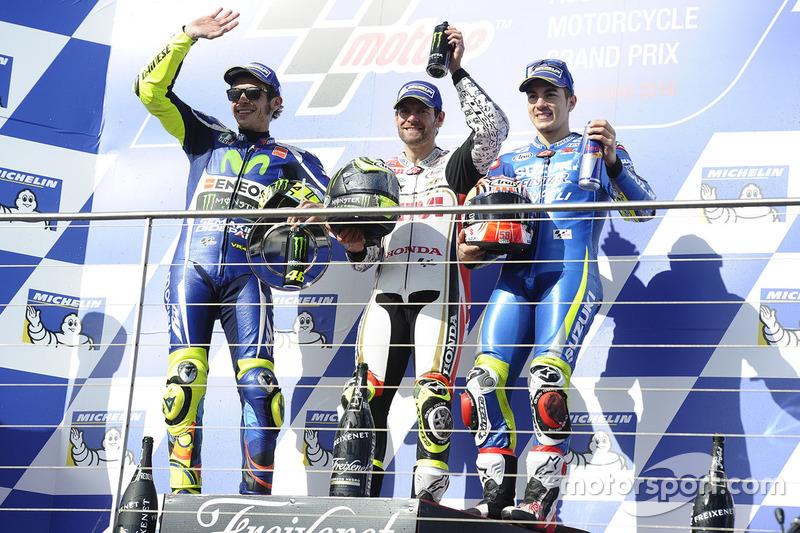 Valentino Rossi, Yamaha Factory Racing, Cal Crutchlow, Team LCR Honda, Maverick Maverick Viñales, Team Suzuki Ecstar MotoGP