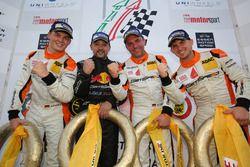 Fabian Schiller, Kiki Sak Nana, Adam Osieka, Dennis Trebing, Porsche 911 GT3 Cup
