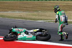 Cal Crutchlow, Team LCR Honda, crash