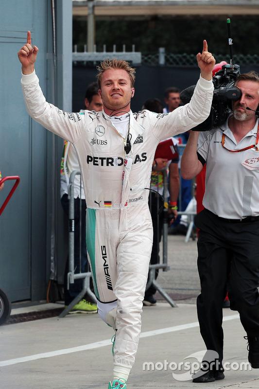 Nico Rosberg, Mercedes AMG F1 celebra
