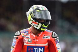 Andrea Iannone, Ducati Team after his crash