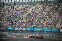 Nick Heidfeld, Mahindra Racing and Stéphane Sarrazin, Venturi