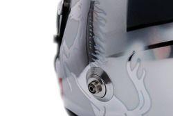 Sebastian Vettel helmet detail