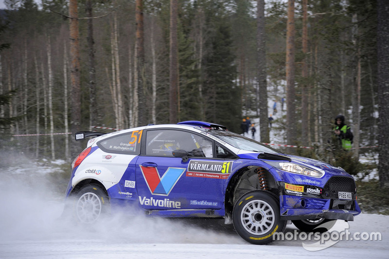 Anders Grondal, Miriam Walfridsson, Ford Fiesta R5