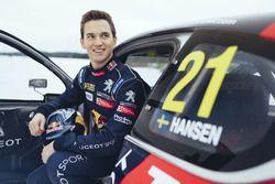 Timmy Hansen e la sula Peugeot 208 WRX