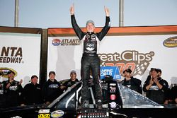 Race winner John Hunter Nemechek, NEMCO Motorsports Chevrolet