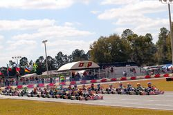 Rotax Junior led by Nicholas and Micheal d'Orlando