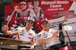 Dani Pedrosa, Repsol Honda Team et Marc Márquez, Repsol Honda Team