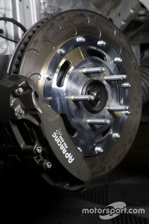 Opel Astra TCR disc brake