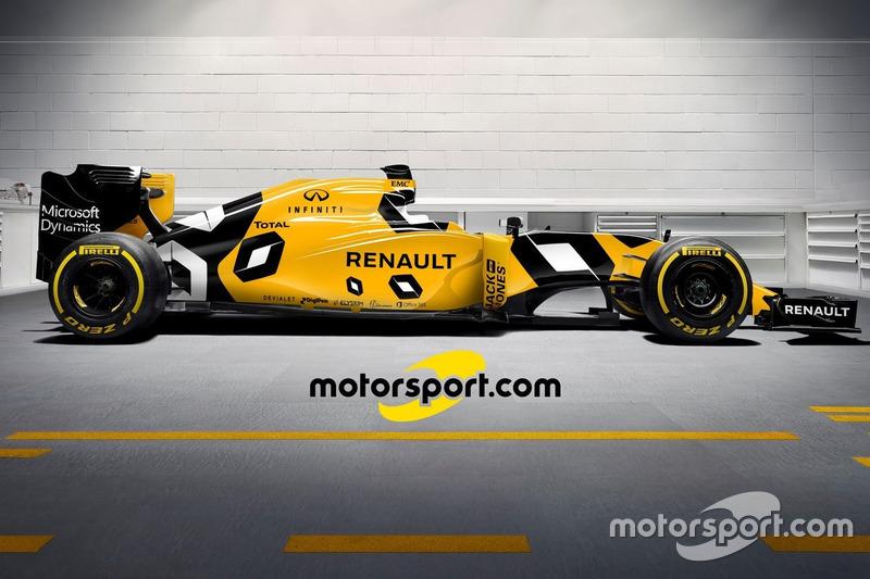 Mögliches Design für den neuen Renault RS16