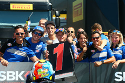 Federico Caricasulo, GRT Yamaha Official WorldSSP Team takes pole position