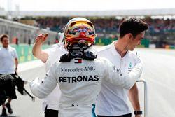 Polesetter Lewis Hamilton, Mercedes AMG F1