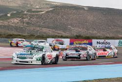Carlos Okulovich, Maquin Parts Racing Torino, Christian Ledesma, Las Toscas Racing Chevrolet, Guille