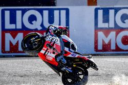 Choque de Scott Redding, Pramac Racing