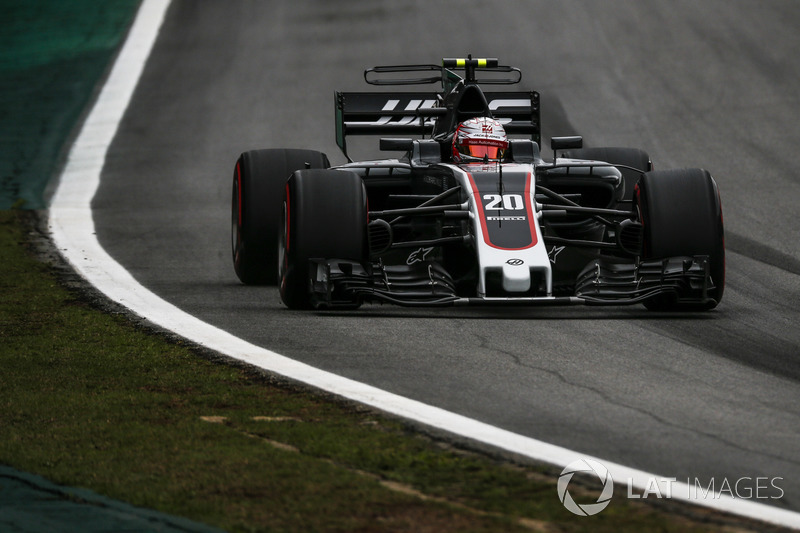 """DNF. Kevin Magnussen, Haas F1 Team - """"Toen ik Ricciardo zag, was het al te laat"""""""