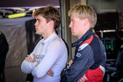 #55 Attempto Racing Audi R8 LMS: Pieter Schothorst, #66 Attempto Racing Audi R8 LMS: Steijn Schothorst