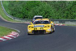 #1 Team Zakspeed Chrysler Viper GTS-R: Peter Zakowski, Robert Lechner, Pedro Lamy