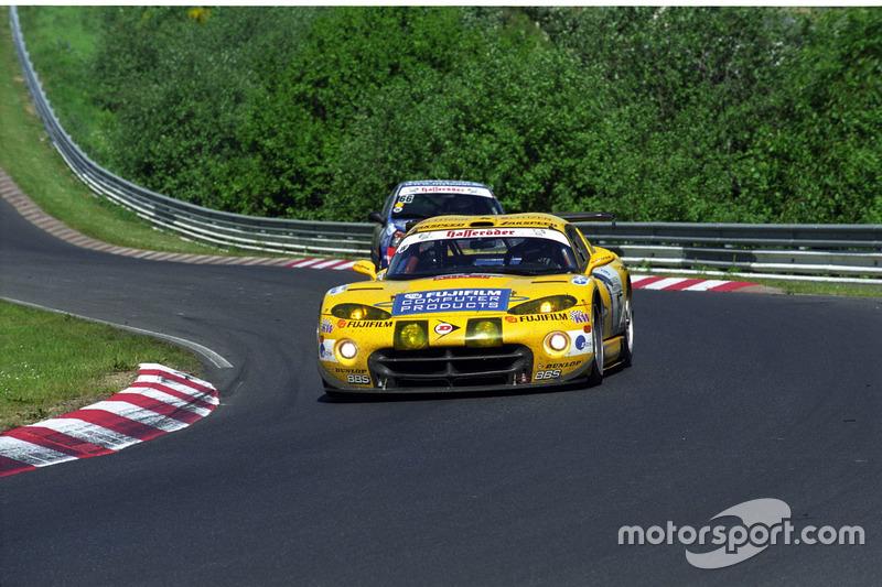2002: Peter Zakowski, Robert Lechner, Pedro Lamy (Chrysler Viper GTS-R)