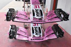 Носовой обтекатель и переднее антикрыло Sahara Force India F1 VJM11