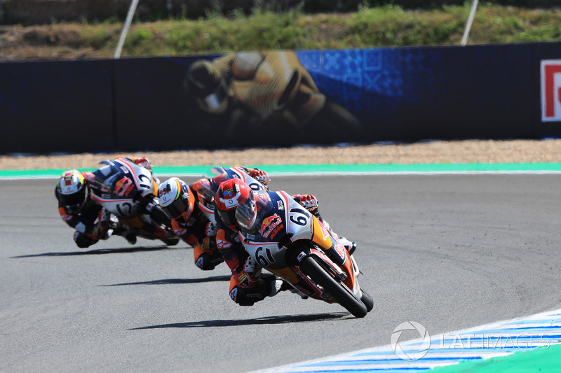 Red Bull Rookes Cup, race1,Spanish MotoGP, 5 May 2018