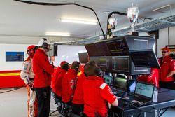 DJR Team Penske Ford team members at work