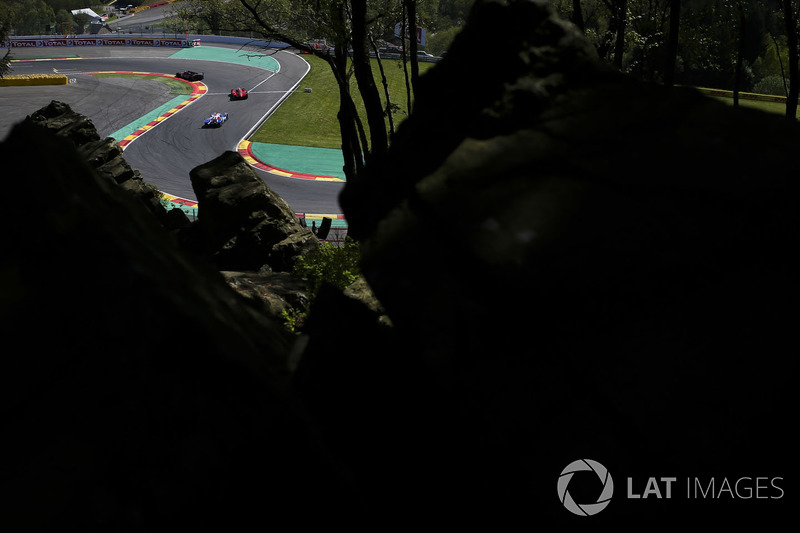 WEC Spa Francorchamps track action
