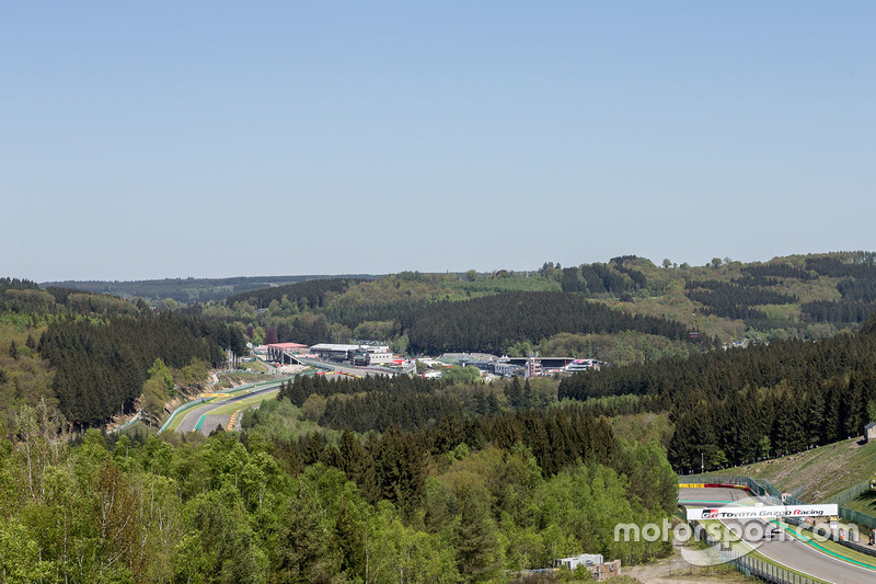 Spa-Francorchamps track overview