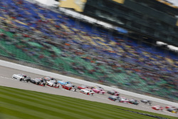 Tyler Reddick, Chip Ganassi Racing Chevrolet guida il gruppo