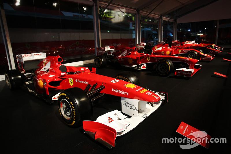 Exposition de Ferrari F1