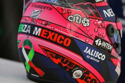 Helmet of Sergio Perez, Sahara Force India F1