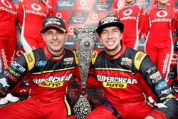 Endurance cup winners Chaz Mostert, Steven Owen, Rod Nash Racing Ford