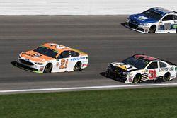 Райан Блэни, Wood Brothers Racing Ford, Райан Ньюман, Richard Childress Racing Chevrolet и Дейл Эрнх