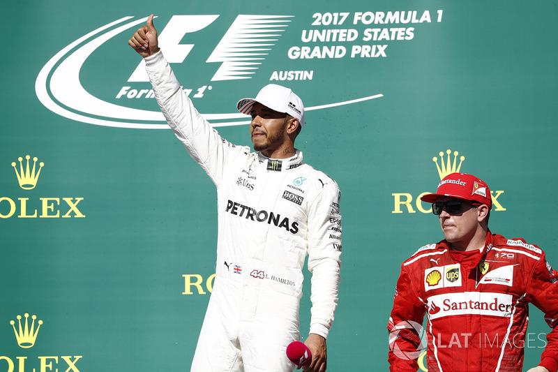 Hamilton persigue un récord de Raikkonen
