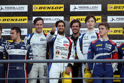 Podium: Winners #40 GRAFF, Oreca 07 - Gibson: James Allen, Richard Bradley, Gustavo Yacaman