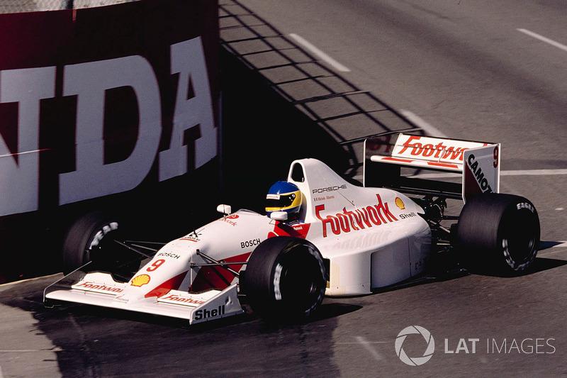 Footwork A11C, à moteur Porsche (1991)