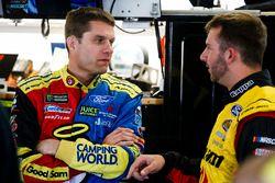 David Ragan, Front Row Motorsports Ford and Matt DiBenedetto, GO FAS Racing Ford